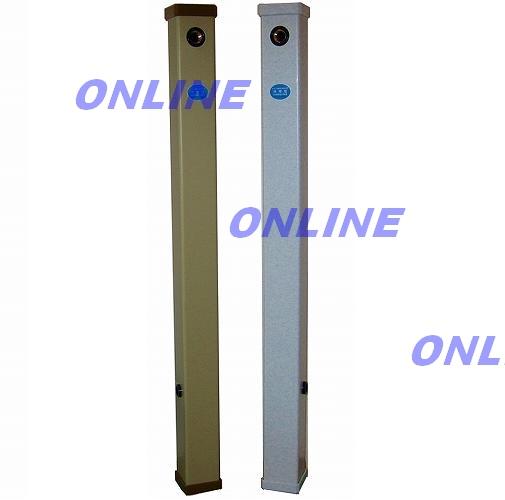 画像1: 【MIYAKO】ビニール巻水栓柱(左・右)給水(ミカゲ・アイボリー) M241HR