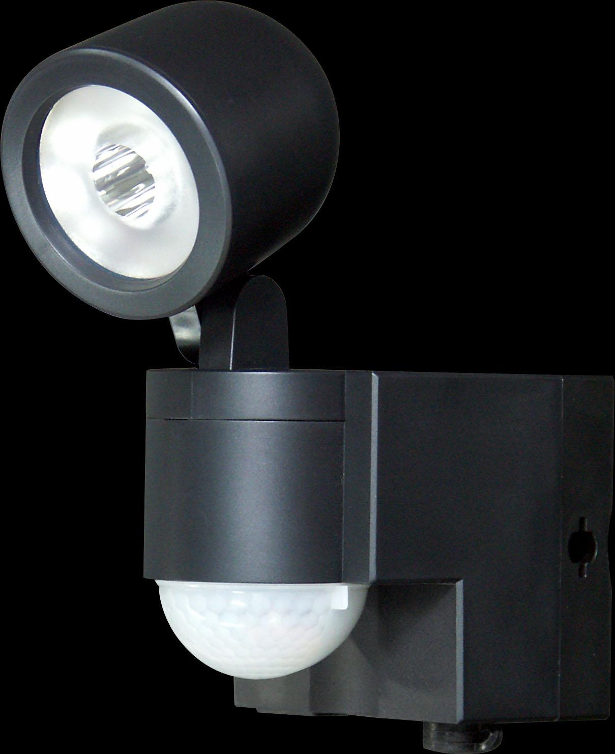【ELPA エルパ】ソーラーLEDセンサーライト1灯ESL-101SL(BK) のこと ...