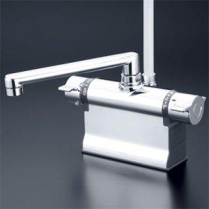 画像1: KF3011TR3【KVK】デッキ形サーモスタット式シャワー (可変ピッチ式)(300mmパイプ仕様)  (1)