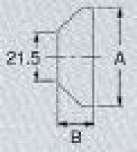 画像1: M167HP  水栓取付補強プレート【ミヤコ株式会社】
