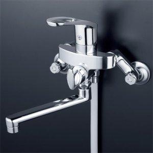 画像1: 旧KF550G⇒KF5000T【KVK】シングルレバー式シャワー(ヘッドとホース付き) (1)