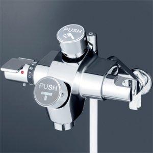 画像1: KF3040【KVK】自閉式サーモスタット式シャワー (1)
