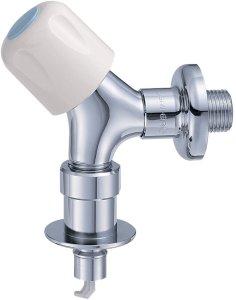 画像1: Y143CTV-1-13【73】 三栄水栓 洗濯機用送り座水栓  (1)