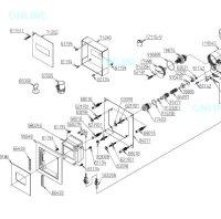 画像1: 【TOTO】 感知フラッシュバルブ(小便器用露出型) 旧新TEA98R⇒FM6TW8-S